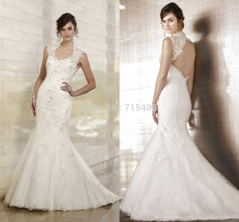 Zinn-Hochzeits-Kleider