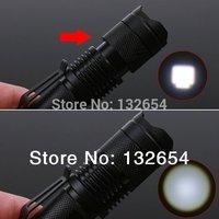 Lanterna led Mini Cree Led Flashlight Torch Adjustable Focus Light Lamp Q5 free shipping
