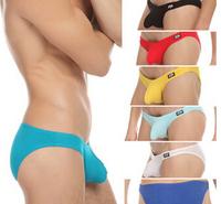 men's classic design low waist briefs comfortable modal underwear sexy cock pouch Panties for male 8 colors