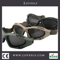 Loveslf Mesh network of metal glasses zero goggles No. 0 goggles field