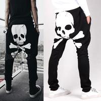 Men Harem Pants sports Casual Loose pocket design harem sweatpants hip hop harem pants for man