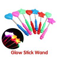 Flashing LED Light Glow Wand Stick Glow Wand Blinking LED Glow Light Stick Magic Glow Stick   P4PM