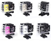 Original SJ4000B action video action camera 720P HD waterproof camera professional helmet  Sport camera Gopro style sport dvr