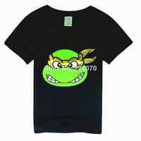 2015 teenage mutant ninja turtles boy t shirt 2-7Y for summer cartoon fashion tops tee children kids boys t shirts free shipping