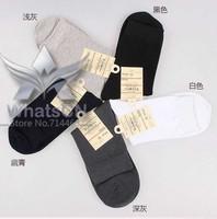 2014  Fashion 100% cotton Casual Business warm socks High quality Solid color brand socks Men's sports socks 10 pairs christmas