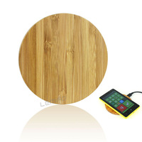 QI Wireless Charging Pad TI Chip Wood Plate Charger Cradle Transmitter For LG Nexus HTC Nokia iPhone 6 Samsung Galaxy S5 Note 4