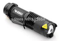 2000 Lumens CREE XML Q5 Zoomable LED Flashlight Self-defense Lanterna Lantern Led Torch Bright Linternas