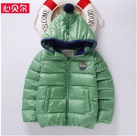 children winter Down & Parkas boys thickening jackets kids sports warm coats brand outwear with white duck down