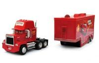 Free Shipping Pixar Cars 2 Mack Truck Hauler small car red Toys car Diecast Metal Car Toy  big+small