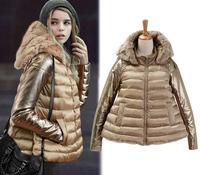 New 2014 jackets women small wadded jacket thickening down cotton-padded jackets women design short outerwear slim jacket