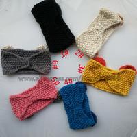 2014 New Fashion Women Cute Cat Ear Model Full Niblet Handband,Female Crochet Handwear,6 Color,Free Shipping 5 pcs/lot  l17