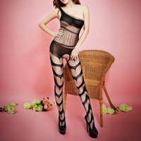 2014 Special Offer Women Sexy Lingerie Black Mesh Outfits Night Sleepwear Asian S - M E07376
