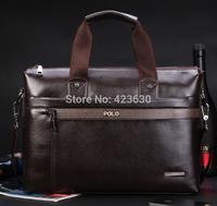 Hot sale 2014 New Fashion Briefcase Handbags Men Shoulder Bags Designer Genuine Leather Men Messenger Bags IPAD Laptop Bag