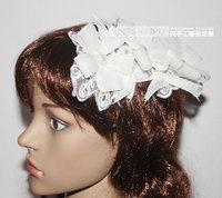 Free shipping Fashion women's hair accessory handmade hair accessory decoration hair accessory Wedding flower headdress Europe