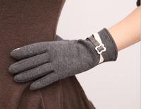 Quality Screentouch Fashion Women Gloves Cotton Blend Mitten Winter Warm Gift Hand Wrist Gloves