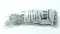 Rubber loom bands silicone diy bracelet light sliver color 600pcs with 24 clip popular in USA passed EN71 and ROSH  test report