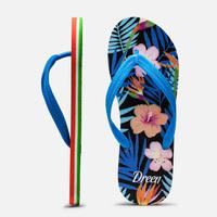 2014 new  free shipping casual women summer beach sandals flip flop adult shoe flower