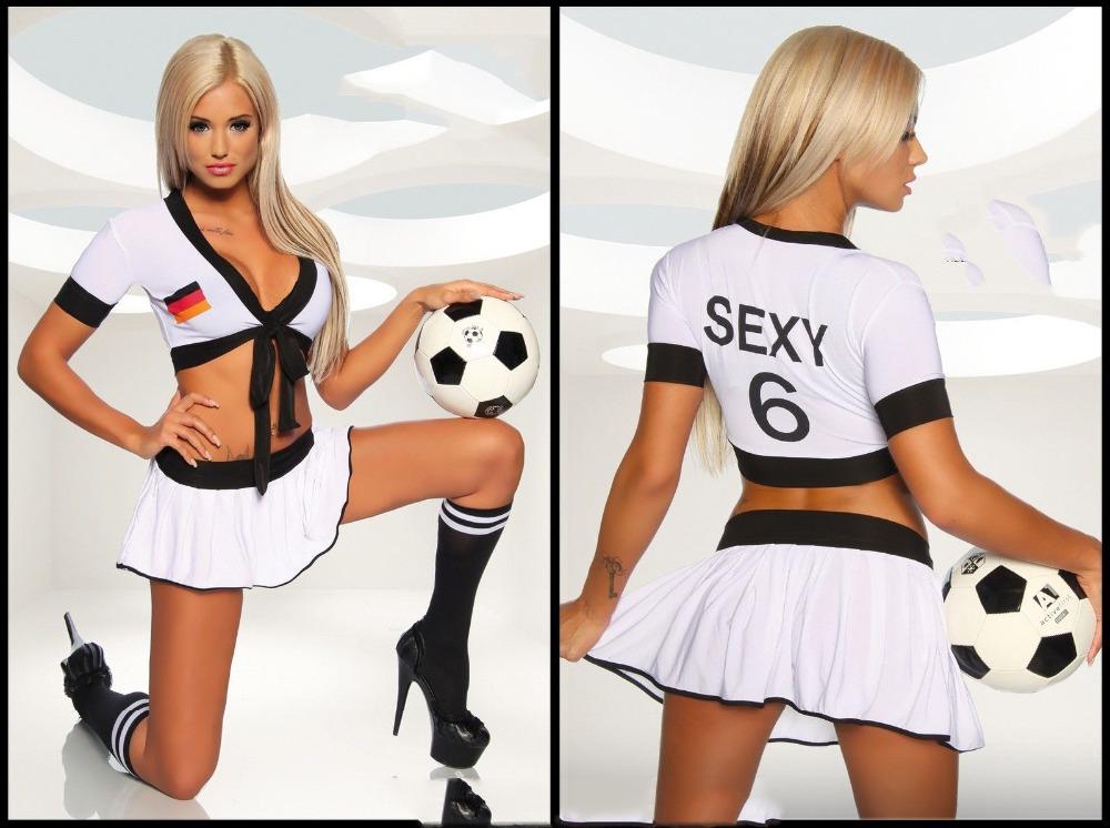 Sexy football baby Cheerleaders game uniforms Suit Cosplay costume Burst milk miniskirt(China (Mainland))