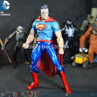 Wholesale (5pcs/pack) Forever Evil Cartoon Action Figure Toys Bizarro 16CM High PVC Action Figure Model Toy -Free Shipping