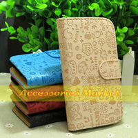 1 Pcs New Fashion Flip Leather Case Cover For Huawei Ascend P6