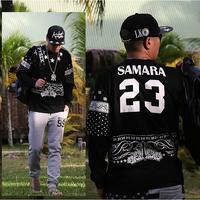 Fashion Harajuku Hoodies Sweatshirts Men 2014 PYREX 23 Printed Pullover Hoody Designer Man Sport Hoodies Plus Size 5XL FREE SHIP