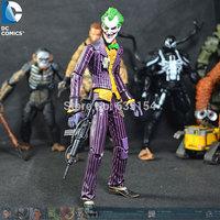Wholesale (5pcs/lot) Cool Batman Action Figure Toys The Joker 16CM High PVC Movie Action Figure Model Toy -Free Shipping