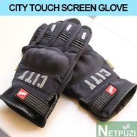 NEW CITY Motorcycle ride gloves thermal gloves TOUCH SCREEN bicicleta MOTO proteciones de motociclista
