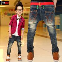 Children's wear the new 2014 autumn fashion Boy baby big children's cowboy pants