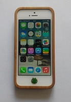 Phone  5/5S BAMBOO WOOD CASE COVER ( CARVED FROM SOLID REAL WOOD )  Free Shipping