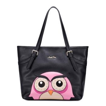 Новинка сумка почтальона сумочки совы серии прекрасный коллаж мультфильм животных одноместный сумки на ремне женщины аксессуары бесплатная доставка