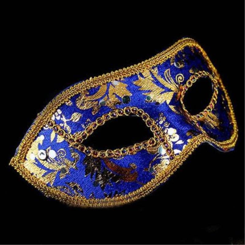 20 pçs/lote ordem misturada máscara mascarada venetian metade da face italiana máscaras para venda(China (Mainland))