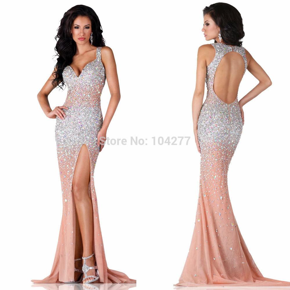 Long Form-Fitting Dresses