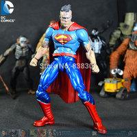 5pcs/pack Wholesale Forever Evil Action Figure Toys Bizarro 16CM PVC Cartoon Action Figure Model Toy For Kids/Gift/Collection