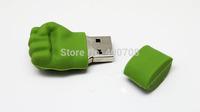 PVC Fist real 2GB 4GB 8GB 16GB 32GB Flash Drive stick pen drive thumb drive pen key udisk usb stick   New 10pcs/lot