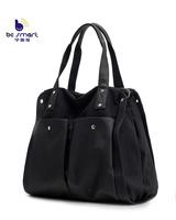 2015 women's handbag made of canvas fabric with long shoulder strap big capacity canvas tote bags B232