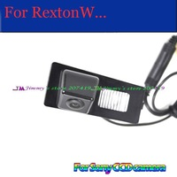 wireless GPS DVD for sony/ccd car rear parking camera High Quality for Ssangyong Korando REXTON W Kyron New Actyon night vision
