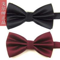 2014 high quality 2pcs/lot New Arrival Mens Polyester Adjustable Neck Bowtie 22 colors Men's fashion commercial   Bow Tie