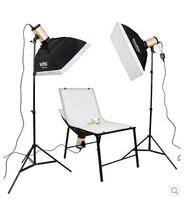 Shenniu 250 watts studio flash kit softbox photography light studio suit shooting Taiwan Photographic Equipment