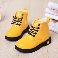 2014 Martin boots for children, boys and girls winter snow boots waterproof boots child baby cotton shoes