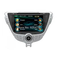 gsp navigation system with kenwood car dvd player for Hyundai Elantra 2012(C7095HE) with car radio usb port