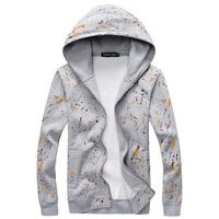 New fashion casual slim fit men fleece hoodies men sportswear sweatshirts men 4 colors M-3XL free shipping