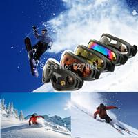 Lot 2Prs Goggles Glasses Motorcycle Motorbike Skiing Racing Eyewear  UV400 Protective Lens-New