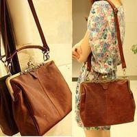 Aliexpress best selling supply ladies vintage leisure Spain style shoulder bag women's small postman bag