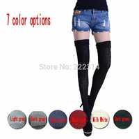 New winter socks comfortable cotton knee socks high socks thick women long socks 7 Colors free shipping 9418