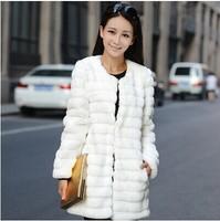 2014 Korean imitation fur coat jacket imitation fur coat fur coat, vest in the long section of female