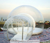 inflatable bubble tent,air house,exhibition hall,  air-structure, outdoor living room