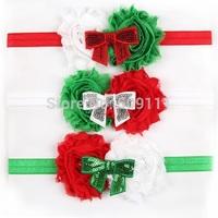 Christmas Headband Baby girl Headbands Infant Holiday Hairband Toddler hair accessories 10pcs/lot HB289