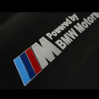 Moter Sports Nickel Alloy Sticker Dashboard Decorate Decals Windows Wheel  Door Sticker Fit For BMW M3 M5 X5 X6 X1B3-01