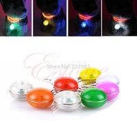 M65 Free Shipping Pet Puppy LED Flashing Safety Night Light Dog Circular Blinker Pendant