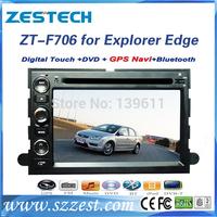 ZESTECH car dvd gps for Ford Edge Fusion Explorer car dvd gps navigation with TV